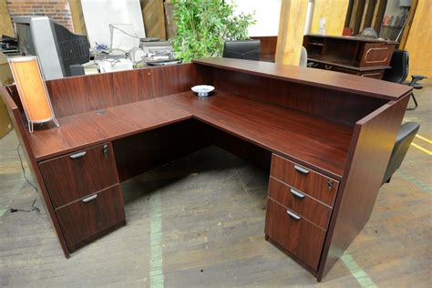 Compel Mahogany Reception Desk Nashville Office Furniture Mahogany Reception Desk