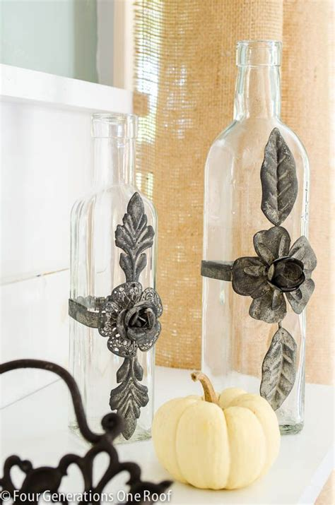 fall decorating ideas glass vases