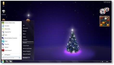 christmas live themes for windows 7 windows 7 themes christmas theme for windows holiday
