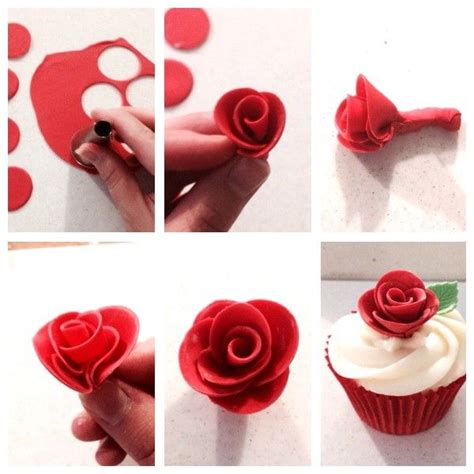 How Do You Make Paper Roses Easy - 25 best ideas about fondant tutorial on