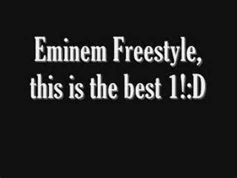 eminem xl freestyle lyrics eminem freestyle with lyrics youtube
