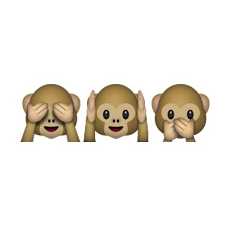 hear no evil speak no evil see no evil tattoo hear see speak no evil emoji www pixshark images