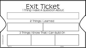 Exit Ticket Smore Newsletters For Education Exit Ticket Template