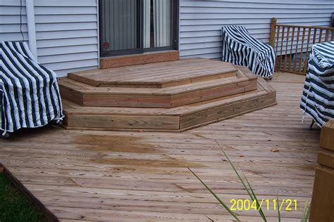 Patio Steps Design Front Entrance Deck Designs Studio Design Gallery