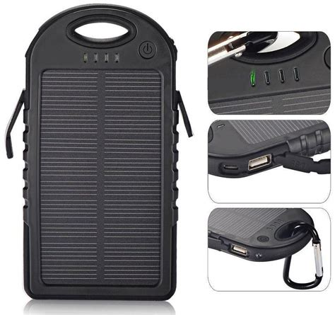 Power Bank Solar Waterproof sa outdoor waterproof solar powerbank survivaladdicts