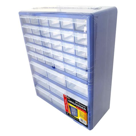 blue 39 multi drawer organiser tools diy storage cabinet
