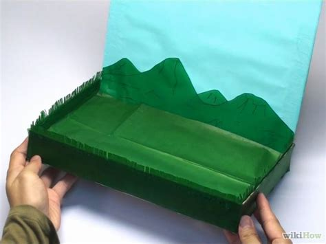 How To Make A Paper Diorama - 25 best ideas about diorama on paper
