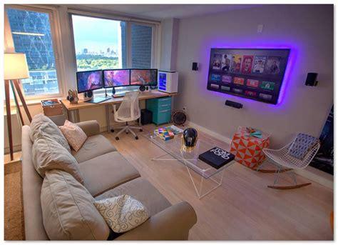 desain kamar gaming sederhana inspirasi ruang bermain untuk gamer mania desain rumah unik