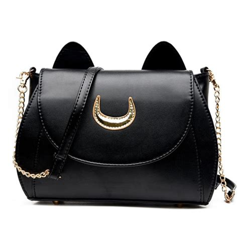 Tas Handbag Wanita 635 19 1 tas selempang wanita model sailor moon black