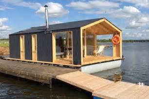 pontoon houseboat floor plans dubldom houseboat a modular floating cabin dubldom