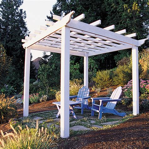 Backyard Arbors Ideas by Trellis Arbor Ideas Sunset