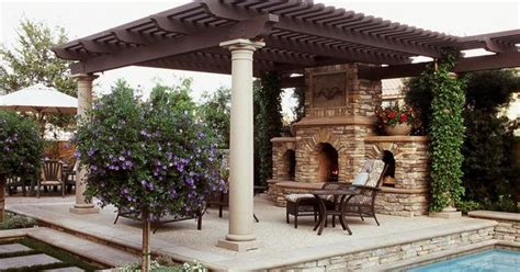 tuscan outdoor fireplace tuscan outdoor fireplace and poolside outdoor lounge