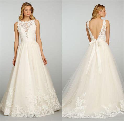 chic vintage wedding dresses with open back ipunya