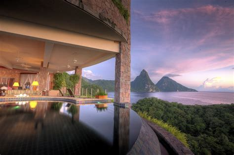 Jade Mountain St.Lucia receives high marks from readers of