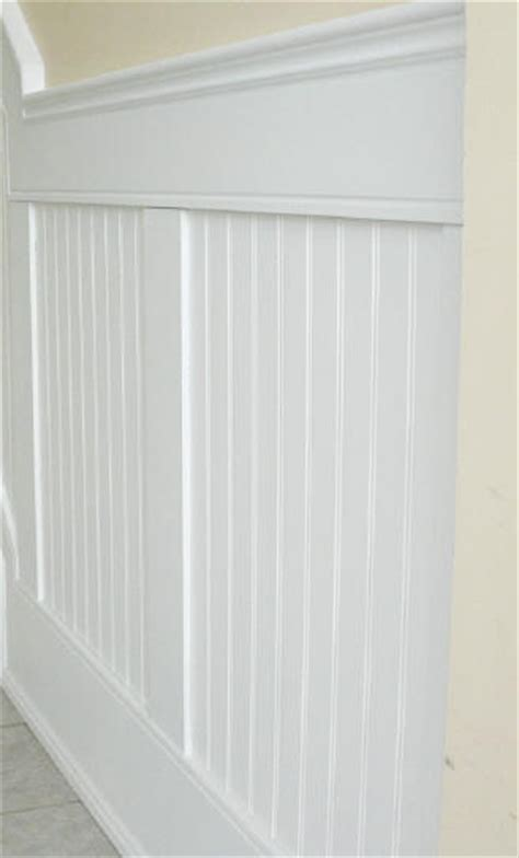 Bead Wainscoting Beaded Paneled Wainscot I Elite Trimworks