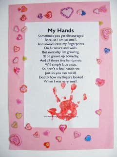 My hands printable version