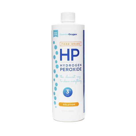 Hydrogen Peroxide Detox by 3 Food Grade Hydrogen Peroxide By Essential Oxygen