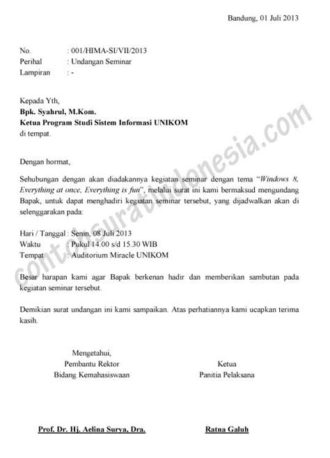 contoh surat undangan contoh surat the knownledge