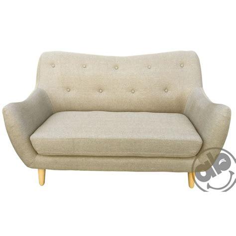 divani beige divano divanetto casa 2 posti sofa in tessuto beige o