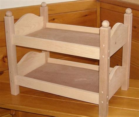 Handmade 18 Inch Doll Furniture - handmade bunk bed for 18 inch doll by admwoodcrafts on