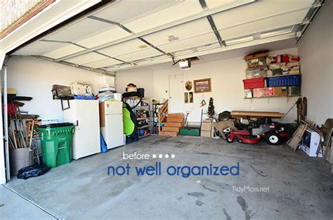 2 car garage organization ideas garage organization