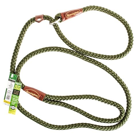 slip leads for dogs remington remington braided rope slip lead leash green leads
