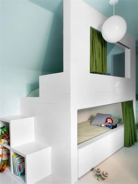 cool bunkbeds 26 cool and functional built in bunk beds for kids digsdigs