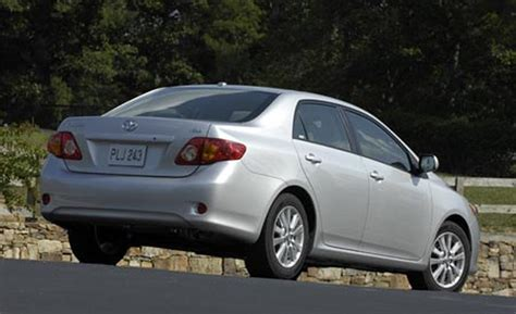 Toyota Corolla Maintenance Cost 2009 Toyota Corolla Recalls Pictures Specs Review