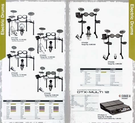 Drum Elektrik Yamaha Dtx 720k by Dealer Resmi Yamaha Showroom School Minggu Buka