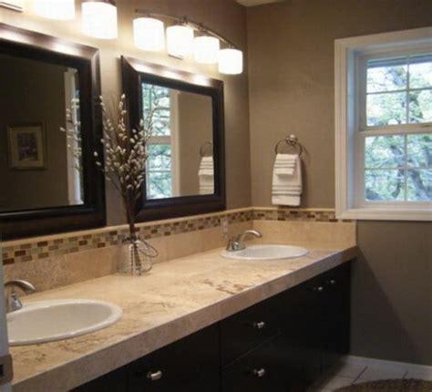pretty color scheme bathroom - Brown Color Schemes For Bathrooms
