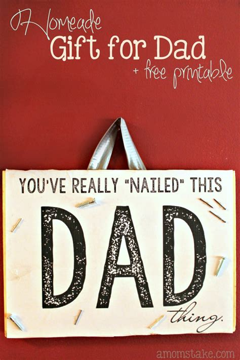 Handmade Gifts For Dads - you ve nailed it gift for a s take
