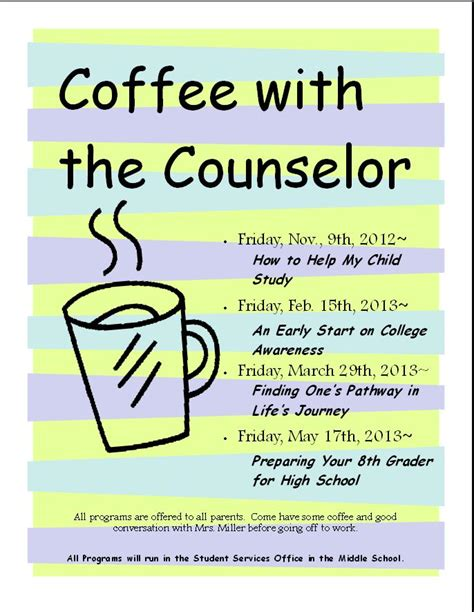 february 2013 the middle school counselor