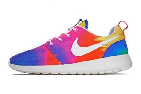rainbow nike sneakers nike roshe run rainbow roshes roshe roshe