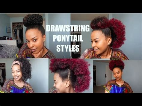 hump and drawstring ponytail tutorial youtube 10 drawstring ponytail styles youtube