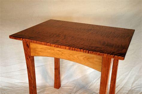 Handmade Cherry Furniture - figured end tables in cherry walnut gt montana