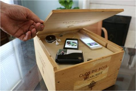 how to make your personal charging station home 15 ways to diy with wine crates