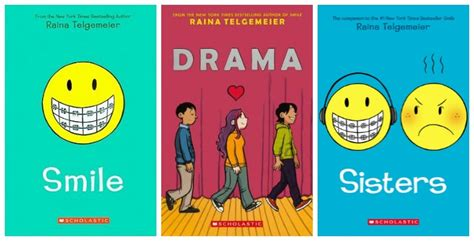 the the smile books raina telgemeier read five