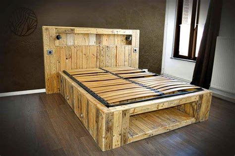 diy pallet bed amazing pallet furniture projects for home 101 pallets