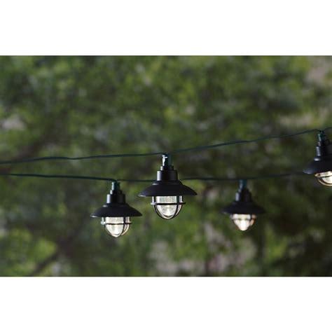 Hton Bay 20 Light 231 In Solar Black Integrated Led Nautical Solar Lights