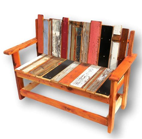 recycled wood bench reclaimed wood bench rustic wood bench entryway bench