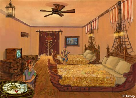 Disney Caribbean Resort Pirate Room by Makeover Pirate Edition Disney S Caribbean