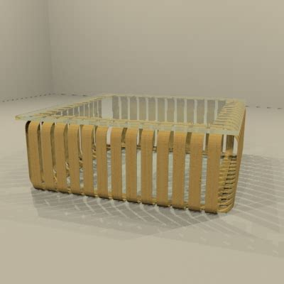 Frank Gehry Furniture Collection Knoll Studio Frank Gehry Cafe Table 3d Model