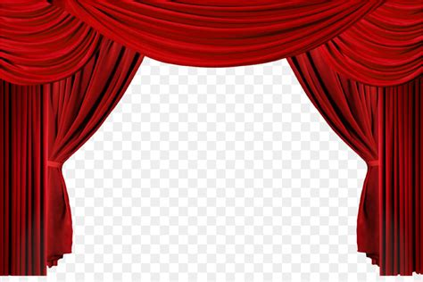 window theater drapes  stage curtains clip art
