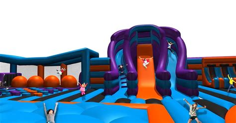 theme park liverpool giant inflatable theme park inflata nation is opening a