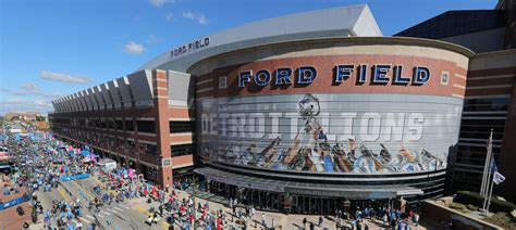 ford field directions stadium info ford field
