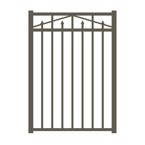 metal fence gates metal fencing fencing the home depot