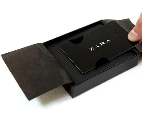 Zara E Gift Card - zara gift card on behance