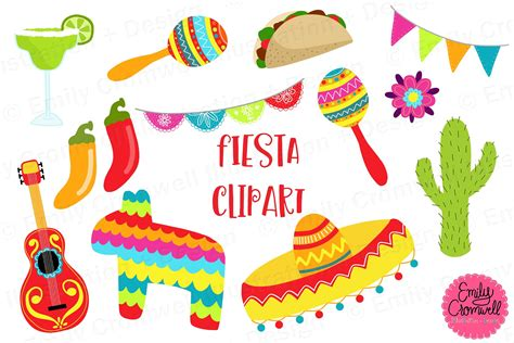 clipart festa clipart illustrations creative market