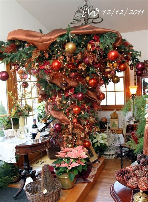 upside down christmas trees christmas decor pinterest 1000 images about christmas trees on pinterest upside