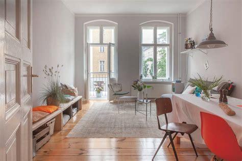 Küche Retro Look by Wohnzimmerwand In Hellem Grau